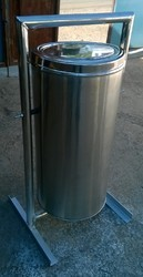 Stainless Steel Stand Dustbins