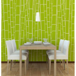 Tile Pattern PVC Interior Wallpaper, for Home
