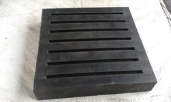 Black EPDM Rubber Pad