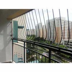 Balcony grills in mumbai maharashtra india indiamart for Balcony safety grill designs