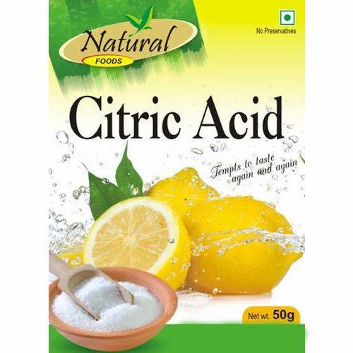 Citric Acid at Rs 27 /50 gram | Coimbatore | ID: 11436265062