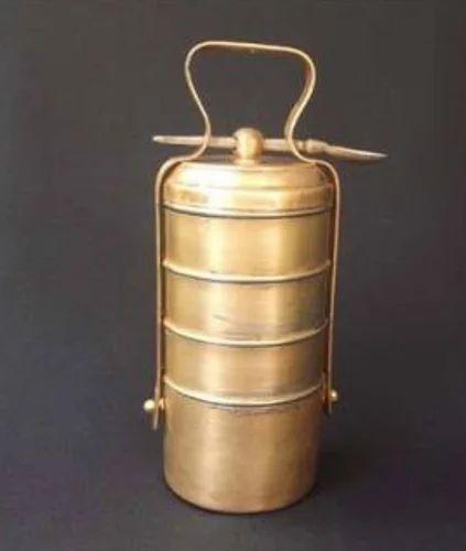 Brass Tiffin Box