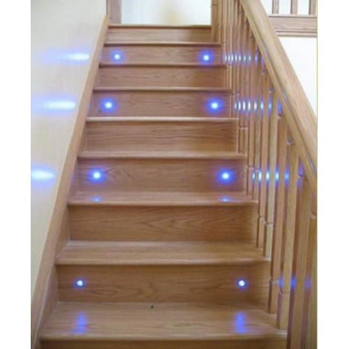 Lighting Basement Washroom Stairs: LED Electric Fiber Optic Staircase Lighting, For Indoor