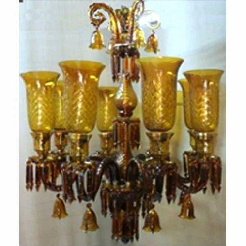 Hanging Chandelier, Hanging Jhumar, pendant chandelier - Dezaina ...