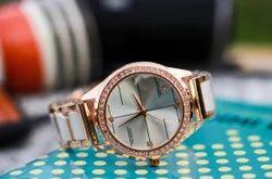 Black Goldan White Brawn Rolex Ladies Watches