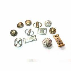 Zinc Casting Shoe Rivet Buttons fittings