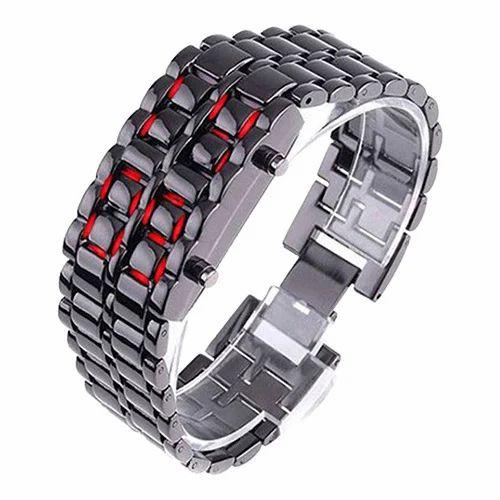 Chain Bracelet Digital Watch