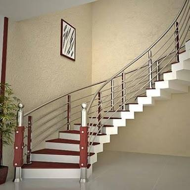 Stainless Steel Wooden Handrail