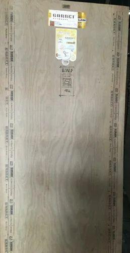 Garnet Gurjan Plywood, Thickness: 10 mm to 18 mm, Grade: BWP Grade
