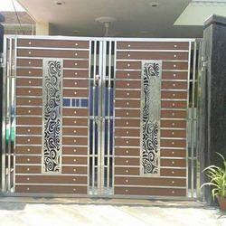 Stainless Steel Gate In Noida स्टेनलेस स्टील गेट नोएडा