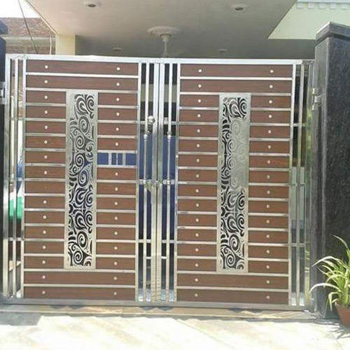 Stainless Steel Gates With Laser Cutting At Rs 1200