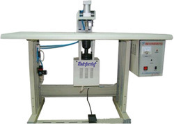 Single Spot Non Woven Handle Loop Machine