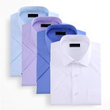 Blue Regular Fit Formal Shirts, Machine Wash