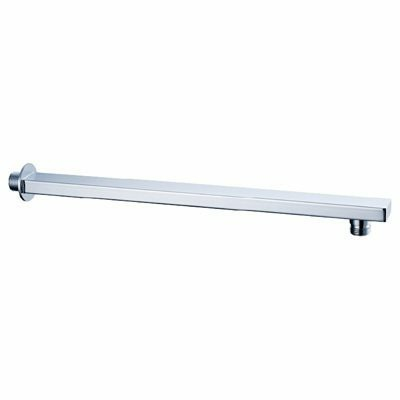 Silver Rectangle Shower Arm