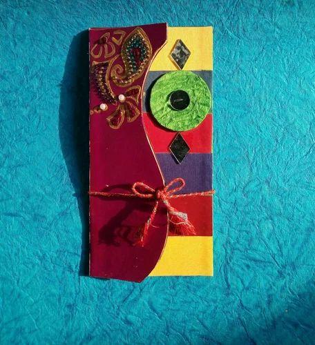 Handmade Trifolded Wedding Card Designer Wedding Invitation