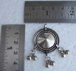 Round Shape Brass Pendant