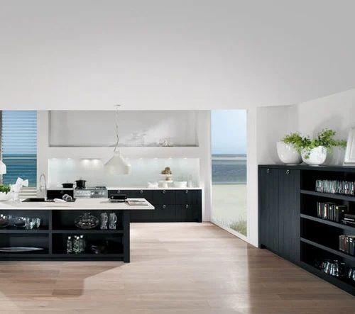 Systemat Art/ Dark Woods Modular Kitchens - Kanu Kitchen Kulture