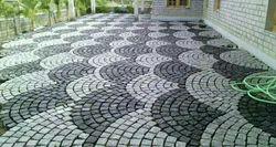 Cobble stone flag stone for floor flooring Hotels Residential commercial construction designer