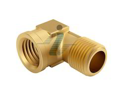 Brass 90 Degree M/F Elbow - Forged
