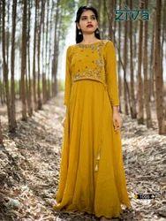 Fashionable Gown Style Long Designer Kurtis