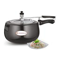 SS Anodized Pressure Cooker
