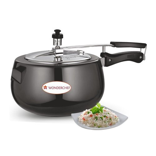 SS Anodized Pressure Cooker | Dev Enterprises | Wholesale Trader in