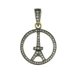 Diamond Pave Fashion Jewelry Charm Pendant
