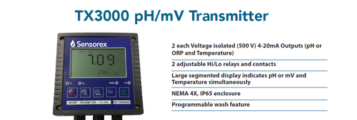 ph sensors and controllers sensorex ph controllers and sensorssensorex ph controllers and sensors