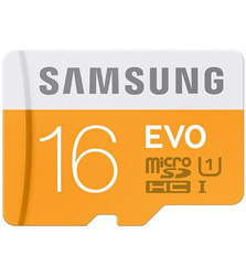 Samsung Memory Card, for Laptop, Memory Size: 16GB