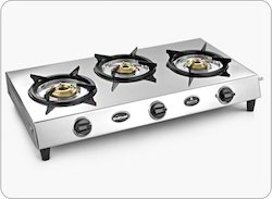 Sunflame Bonus 3B Traditional Stainless Steel Cooktop