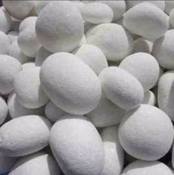 Milky White Pebbles