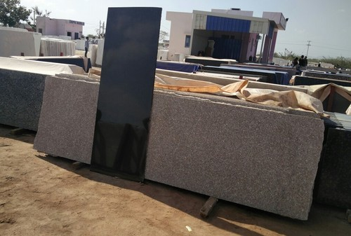 Grey And Red Rajasthan Granite for Flooring & Countertops, Thickness : 15-20 Mm