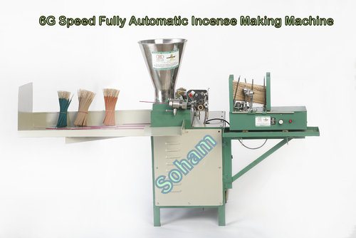 High Speed Automatic Incense Making Machine