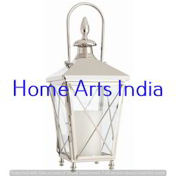 Traditional HOME ARTS Decorative Wooden Lantern, Battery Type: Non-Rechargable