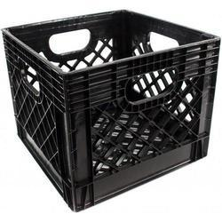 Black Dairy Crates