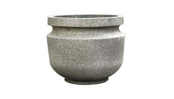 FRP Round Artistic Planters, For Decoration