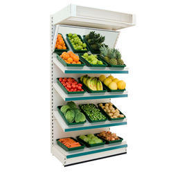 Vegetable And Fruits Rack, For Supermarket