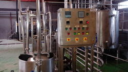 Control Panel for Syrup Line