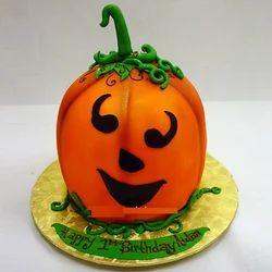 Pumpkin Theme Cake