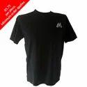 Customized Mens Garment Dyed Short Sleeve Crew Neck