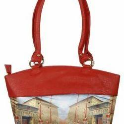 Women Handbags Red