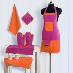 Hot Pink And Orange Kitchen Set