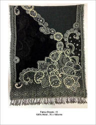 Fancy Bead Wool Shawls