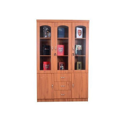 Attrayant Book Cabinet, Book Cupboard   Prism Decor Pvt.Ltd., Pune | ID: 11609560333