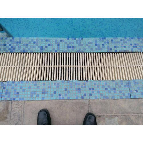 Overflow Grating Swimming Pool Grating Manufacturer From