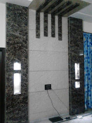 wall affairs Multicolor PVC Marble Sheet Panel, Size: 8*4ft