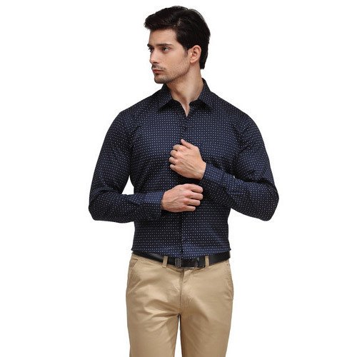 Mens Navy Blue Shirt at Rs 350 /piece(s) | Men Shirts | ID ...