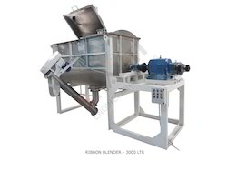 Ribbon Blender - 3000 Liter SS 304 STD Model