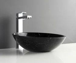 DLA Marble Stylish Stone Bath Basins