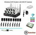 4 Ch Wireless CCTV Cameras Kit
